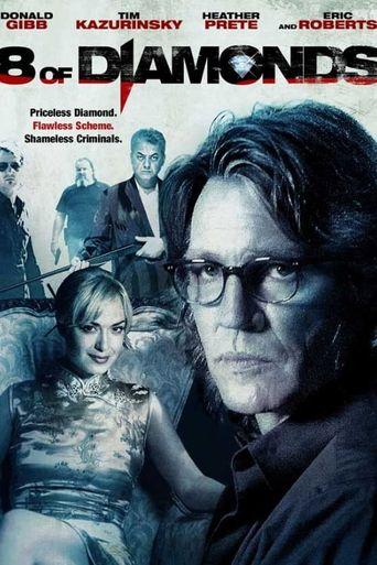 8 of Diamonds Poster