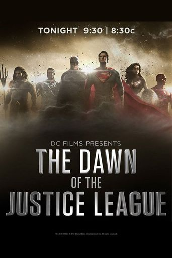 DC Films Presents Dawn of the Justice League Poster