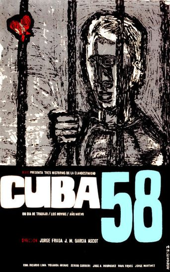 Cuba '58 Poster