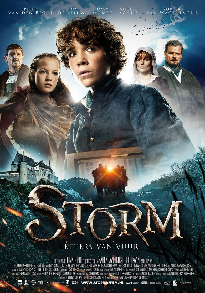 Storm - Letter of Fire Poster