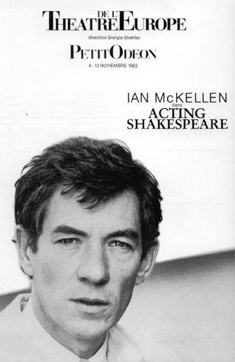 Ian McKellen: Acting Shakespeare Poster