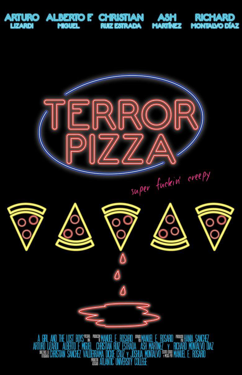 Terror Pizza Poster