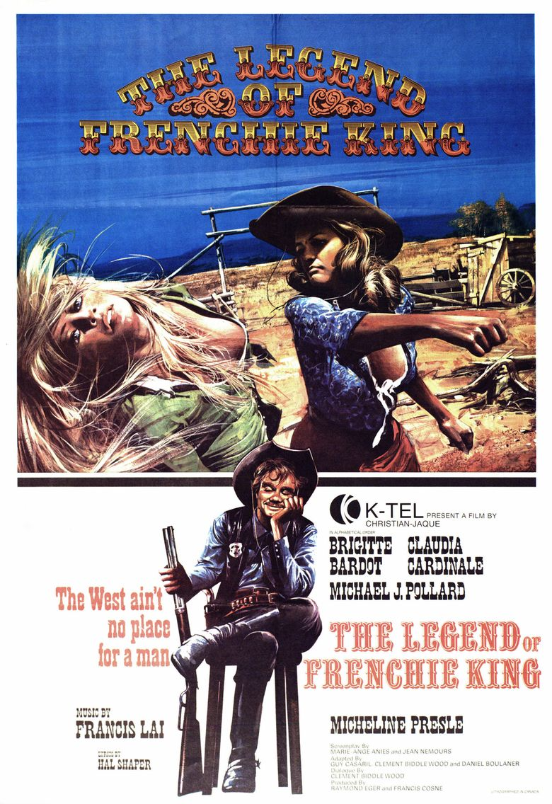 The Legend of Frenchie King Poster