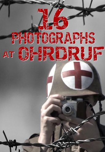 16 Photographs at Ohrdruf Poster