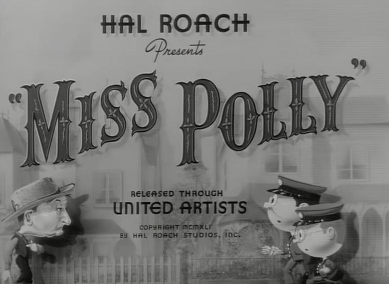 Miss Polly Poster