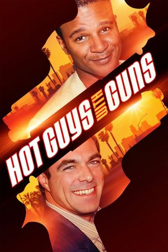 Hot Guys with Guns Poster