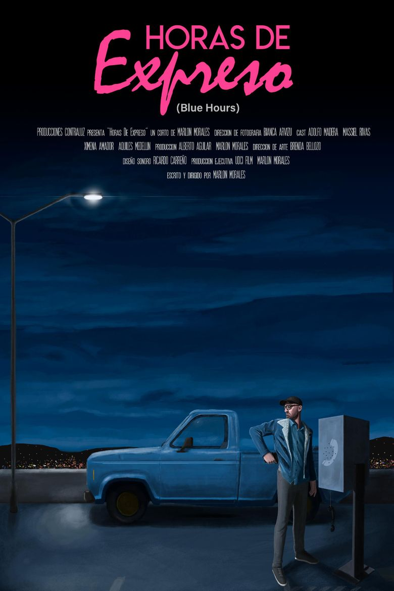 Blue Hours Poster