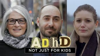 ADHD: Not Just for Kids Poster