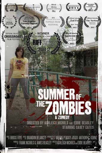 Summer of the Zombies Poster