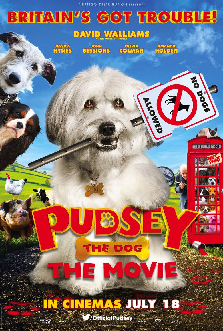Pudsey the Dog: The Movie Poster