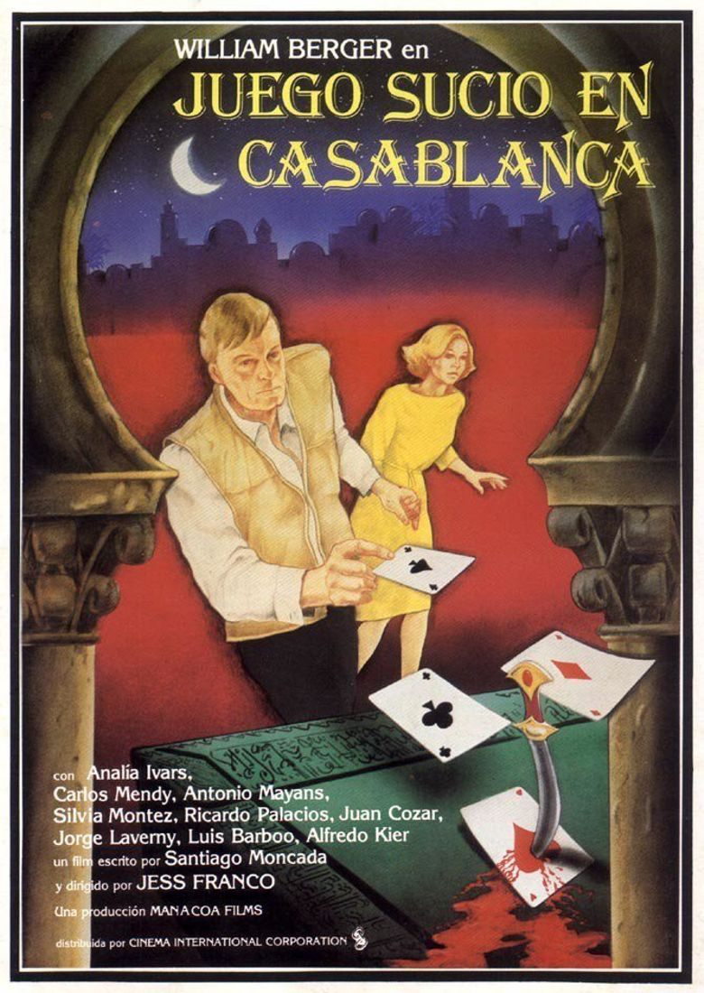 Dirty Game in Casablanca Poster