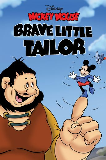Brave Little Tailor Poster