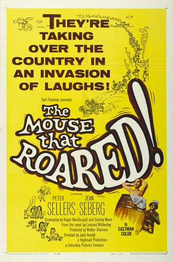 The Mouse That Roared Poster