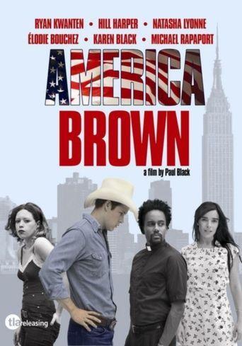 America Brown Poster