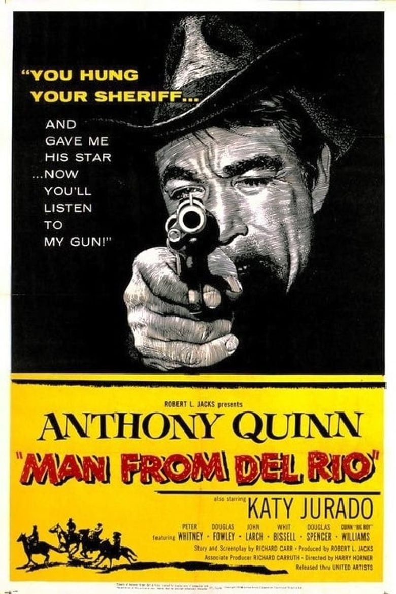 Man from Del Rio Poster