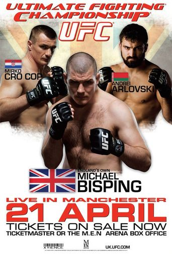 UFC 70: Nations Collide Poster