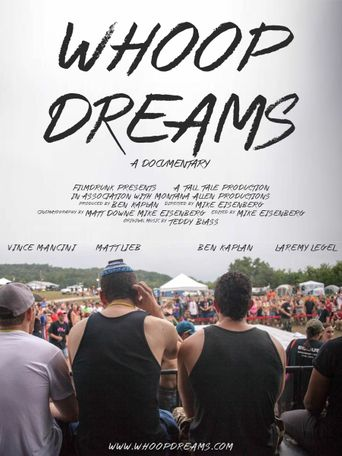 Whoop Dreams Poster