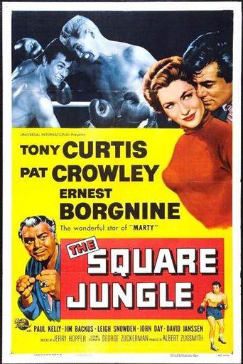 The Square Jungle Poster
