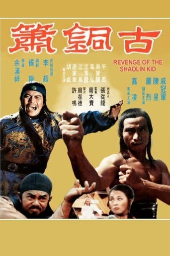 Revenge Of The Shaolin Kid Poster