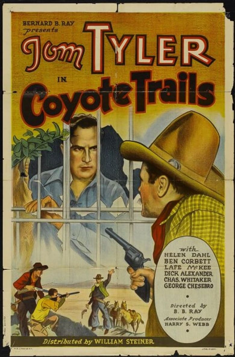 Coyote Trails Poster