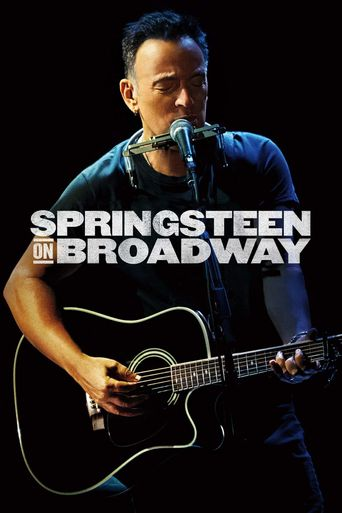 Springsteen On Broadway Poster