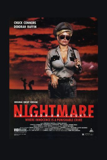 Nightmare in Badham County Poster