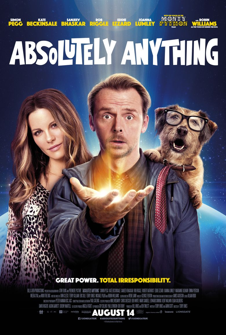 Absolutely Anything Poster