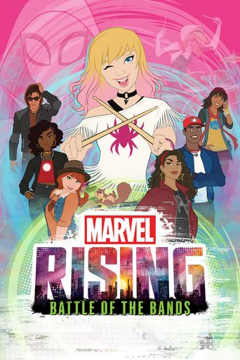 Marvel Rising: Battle of the Bands Poster