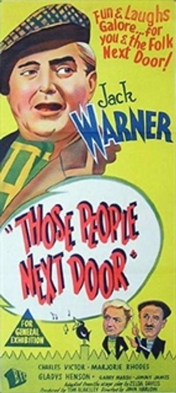 Those People Next Door Poster