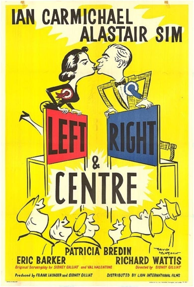Left Right and Centre Poster