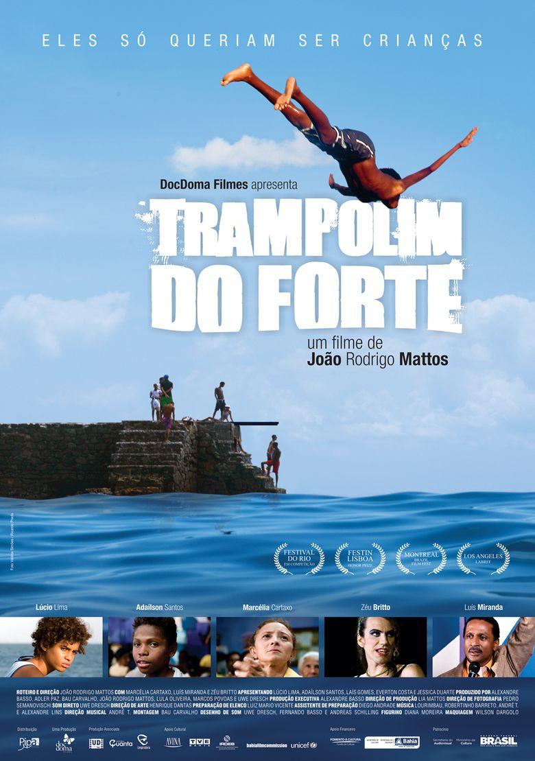 Trampolim do Forte Poster