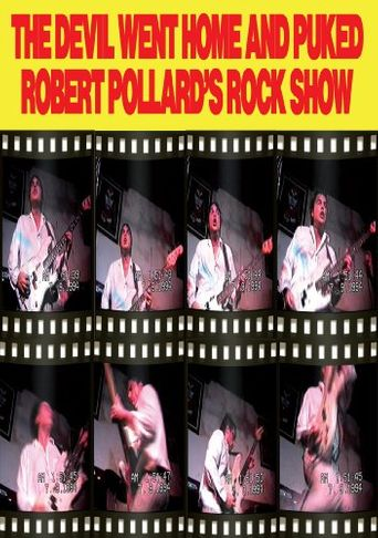 Robert Pollard: The Devil Went Home and Puked Poster