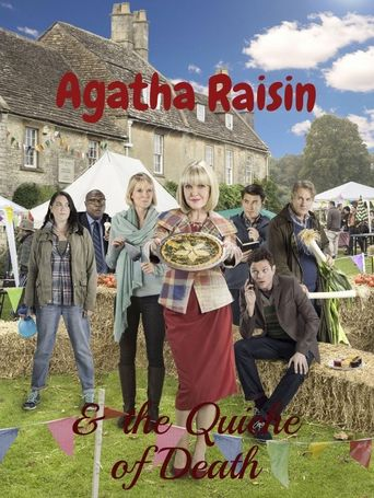 Agatha Raisin and the Quiche of Death Poster
