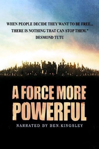 A Force More Powerful Poster