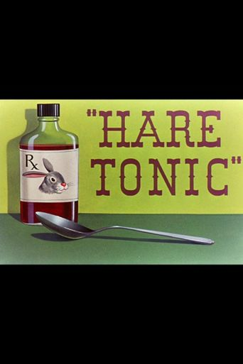 Hare Tonic Poster