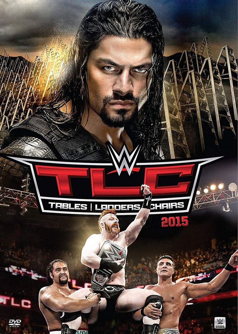 WWE TLC: Tables, Ladders and Chairs 2015 Poster