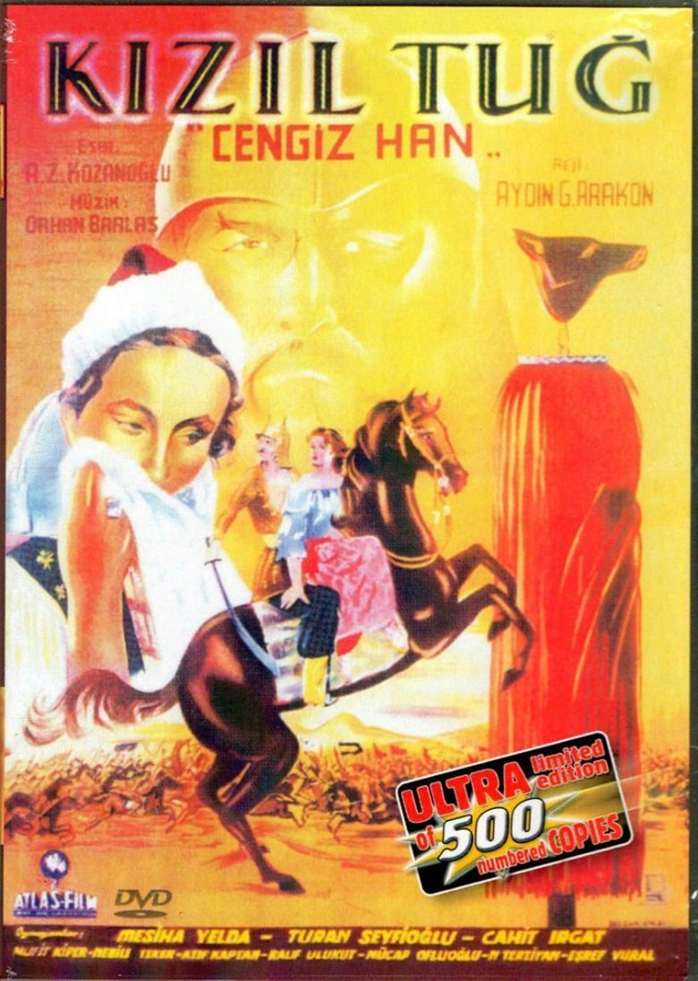 Red Plume - Genghis Khan Poster