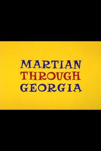 Martian Through Georgia Poster