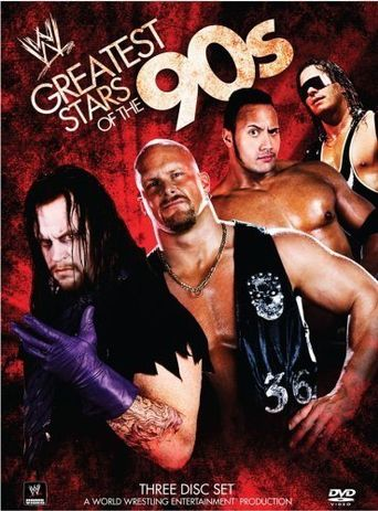 WWE: Greatest Wrestling Stars of the '90s Poster