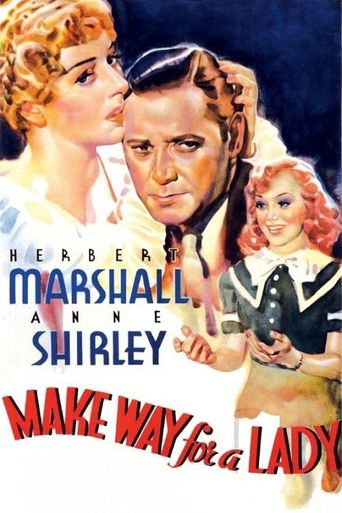 Make Way for a Lady Poster