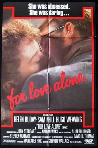 For Love Alone Poster