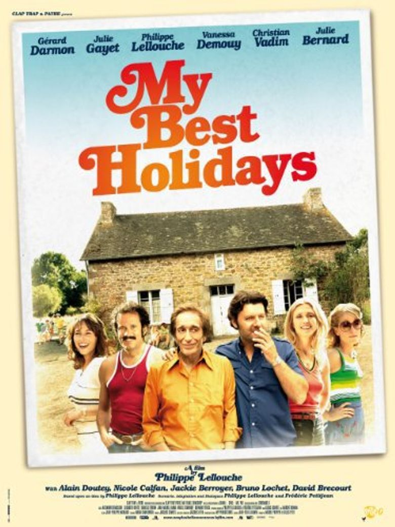 My Best Holidays Poster