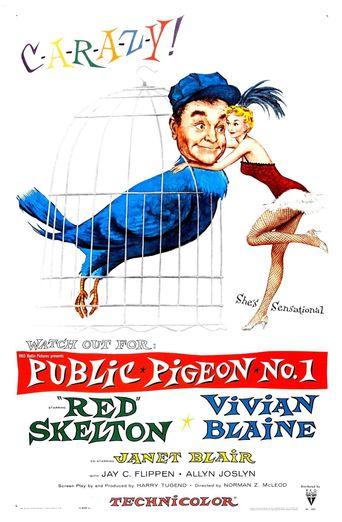 Public Pigeon No. 1 Poster