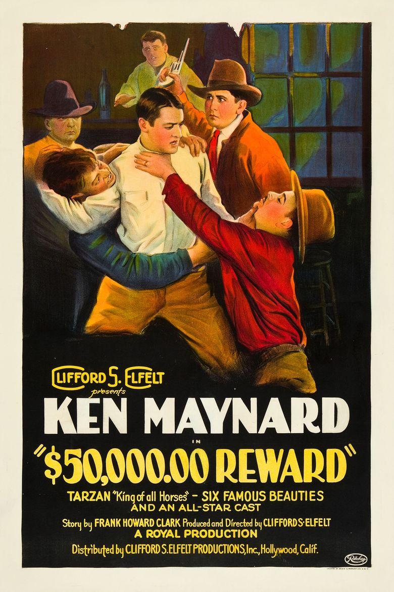 $50,000 Reward Poster