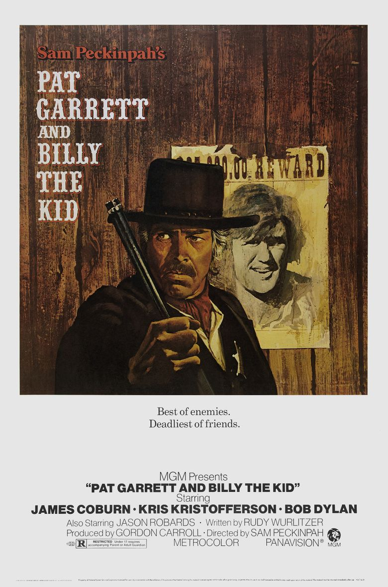Pat Garrett & Billy the Kid Poster