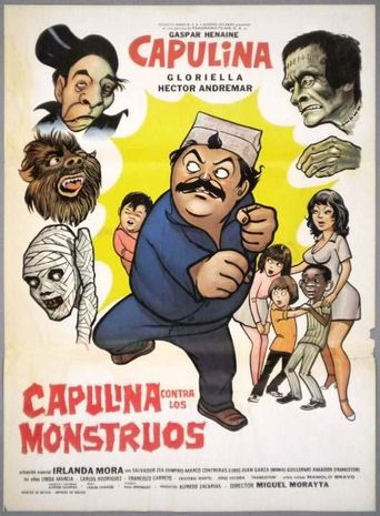 Capulina vs. the Monsters Poster
