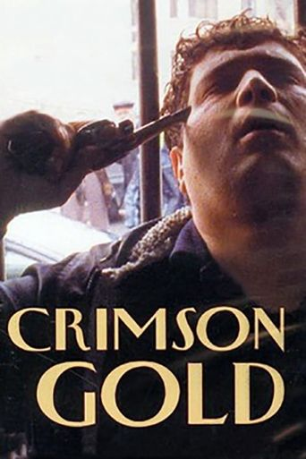 Crimson Gold Poster