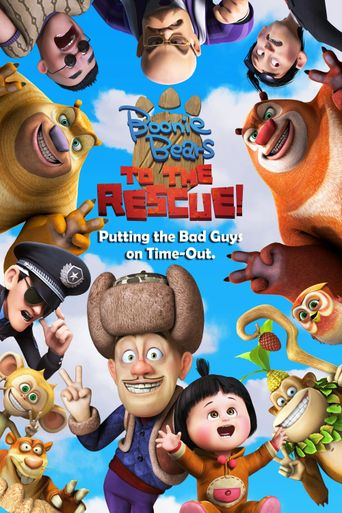 Boonie Bears: To the Rescue Poster