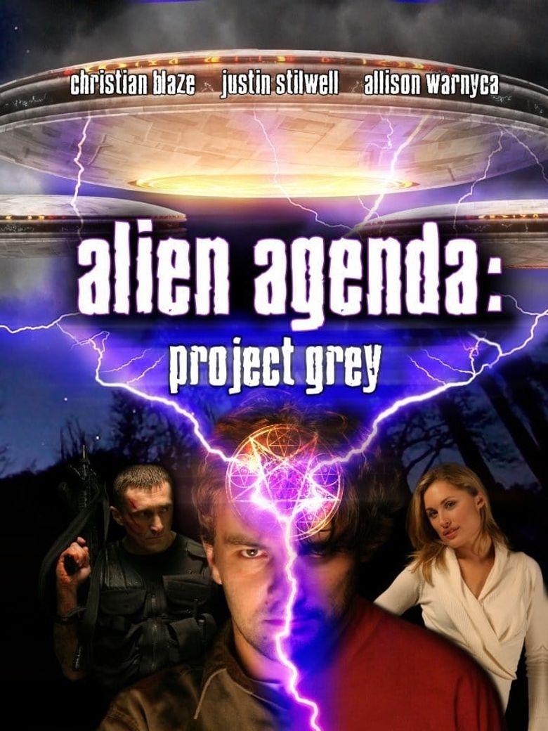Alien Agenda: Project Grey Poster