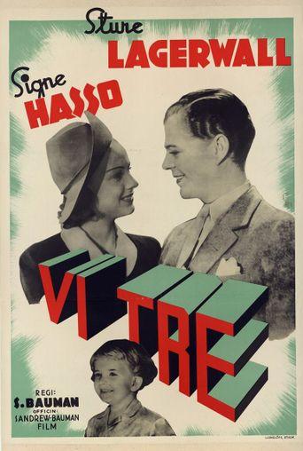 Vi tre Poster